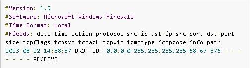 windows防火墙日志在IP追踪的利用