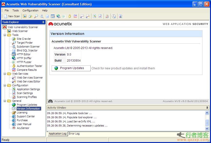 国外web安全扫描器WVS 9.0(Acunetix Web Vulnerability Scanner 9.x)破解版下载
