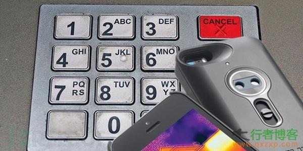 iPhone配件帮助窃取ATM密码