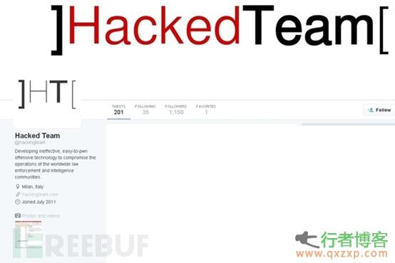 专业黑客公司Hacking Team被黑 400GB内部资料及攻击工具泄露