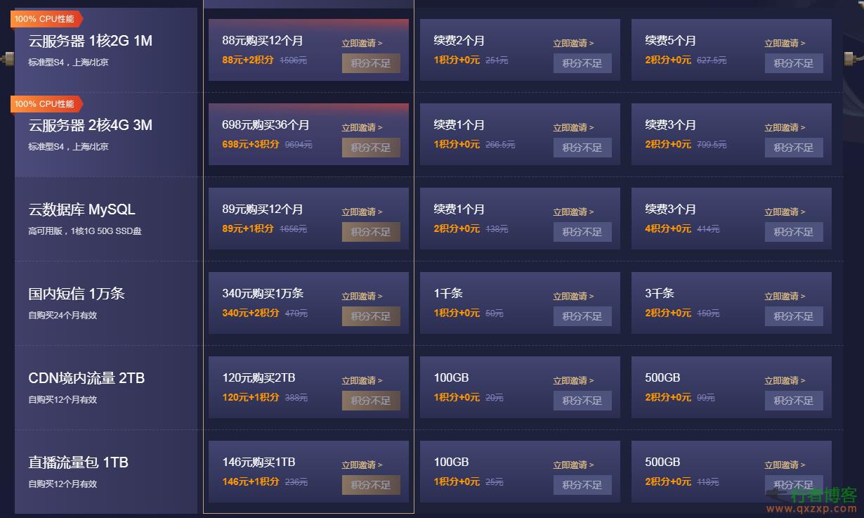 博客推荐【阿里云】【腾讯云】11.11 云上盛惠,1核2G云服务器首年88元,机会不能错过